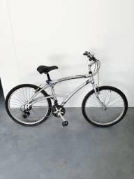 Bicicleta caloi 100 sport aro 26 21v em perfeito estado revisada