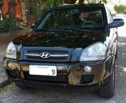 Hyundai Tucson 2007 preta completa, 2.0 automática top,bem conservada - 2007