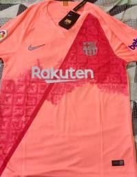 Camisa Barcelona 18 19 Laranja a434fa5fd0d11