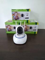 Camera IP robozinho Wi-Fi vigie pelo smartphone