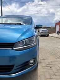 VW FOX Highline 1.6 MSI 2015 - 6 marchas - 44 mil km rodados - Bancos em couro originais - 2015