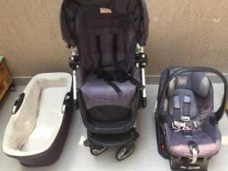 Carrinho, bebê conforto e moisés Peg Perego Skate - importado