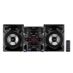 Rádio System Sony Genezi MHC-GTR333 c/ MP3, USB Duplo e Ripping - 400 W
