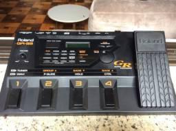 GR-33 Roland inteira parcelo no cartão/ML avalio troca p/ GT100 Boss
