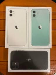 IPhone 11 128Gb Branco/Preto , NOVO 1 Ano de Garantia
