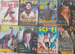 Coleção revistas sci fi