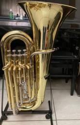 Tuba Profissional 4 Pistos + Gatilho