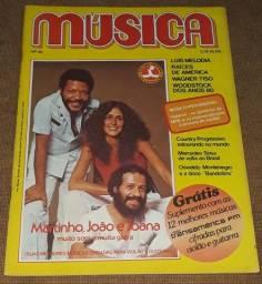 Revista Música n. 40 - Martinho da Vila João Bosco e Joanna