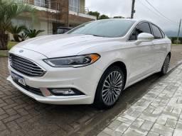 Ford Fusion Titanium 2017/2017 +Top Awd 2.0 248Cv Igual novo! Estaciona sozinho!!!zero