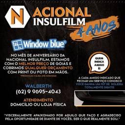 Insulfilm a domicilio e loja física, película Window blue em promoção