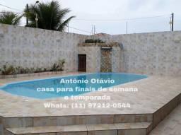 Título do anúncio: Casa para temporada em Itanhaém com Piscina