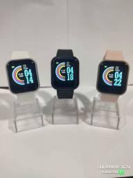 Relógio inteligente Smartwatch y68!! Monitoramento completo