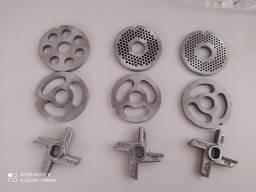 Conjunto de disco cruzeta e pré Cortador do moedor 98 B em inox