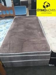 Cama conjugada box solteiro R$:299
