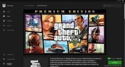 Conta de GTA V Premium Edition da Epic Games. Atenção Edição para PC.