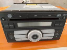 Toca  CD FRONTIER,  leitor de  mp3  cd ,rádio   entrada de 6 CDs  original...
