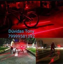 Ciclismo , Sinalizador, Lanterna traseira, bike