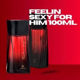 Fragrância Masculina Feeling Sexy for Him 100ml