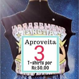 3 camisetas por 50