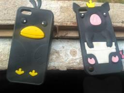 Capas de borracha iphone 5s