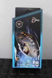 Mouse USB Gamer RGB Jiexin T6