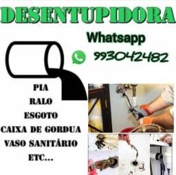 Título do anúncio: Desentupidora 24horas ligue *