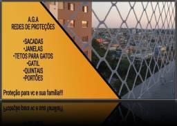 Título do anúncio: Adquira a proteção para seu lar com nossas redes de proteção.