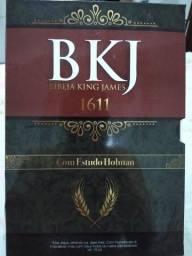 Bíblia King James 1611 Com Estudo Holman