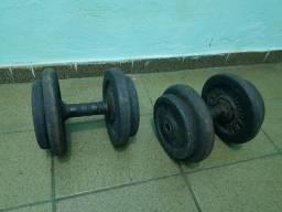 Halteres de 16kg