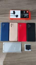 Kit de acessórios para o celular Xiaomi Redmi Note 10, 10s e 10 pro