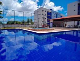 Oportunidade - Apartamento com 2 quartos com Área de lazer e Documentação inclusa