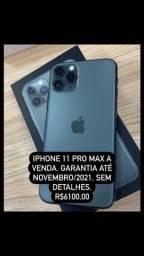 iPhone 11 Pro max 64gb! Garantia até 11/21!