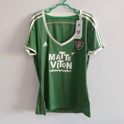 Camisa Fluminense feminina verde 2015