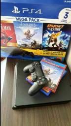 PlayStation 4 1TB Slim IMPECÁVEL !!!