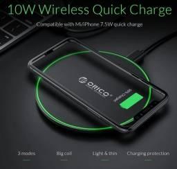 Carregador Wireless 10W Orico (Novo)