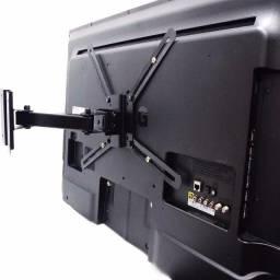 Suporte de Tv - Tri Articulado Lcd Led Painel Parede 20 até 55 Polegadas