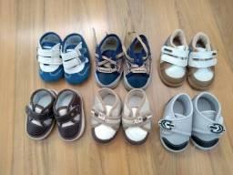 Lote calçado Menino