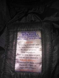 casaco de couro argentino