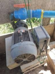 """Cano TIGRE COM ROSCA 2""""  motor e Bomba de irrigação"""