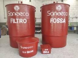 Conjunto Fossa e Filtro