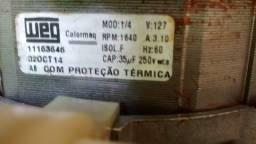 motor de tanquinho pouco usado
