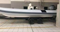 Lancha Catamarã 24 Motor 200HP Ano 2015 - Tipo Flex Boat