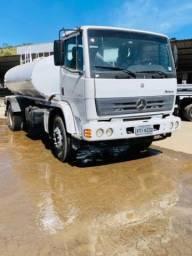 Caminhão Mercedes Benz Atron 2014 Tanque pipa 10.000L Água potavel
