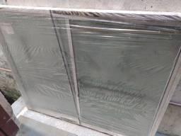 Janela de correr de alumínio