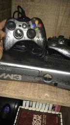Xbox edição MW3 + Kinect e Jogos originais