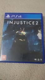 Título do anúncio: Vendo Jogos Ps4 - Injustice 2 e Plante VS Zombies GW2