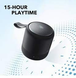 Caixa de Som Anker Soundcore Mini 3 Bluetooth IPX7 USB-C Bassup Original Lacrada Novo
