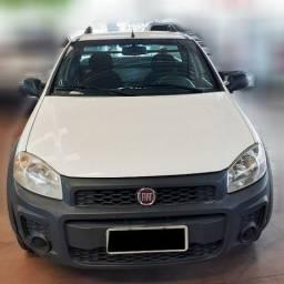 Título do anúncio: Fiat Strada CS HW 2019 1.4, Branca, Liberada, IPVA 2021 Pago