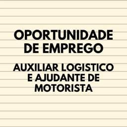 Título do anúncio: Auxiliar Logístico e Ajudante de Motorista para distribuidora em João Pessoa.
