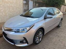 Título do anúncio: Vendo Corolla XEI 2018/2019 Prata Automático - Carro Extra- Não civic, mercedez BMW